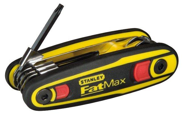 Clé mâle STANLEY Fatmax torx sur support verrouillable - jeu 8 pièces