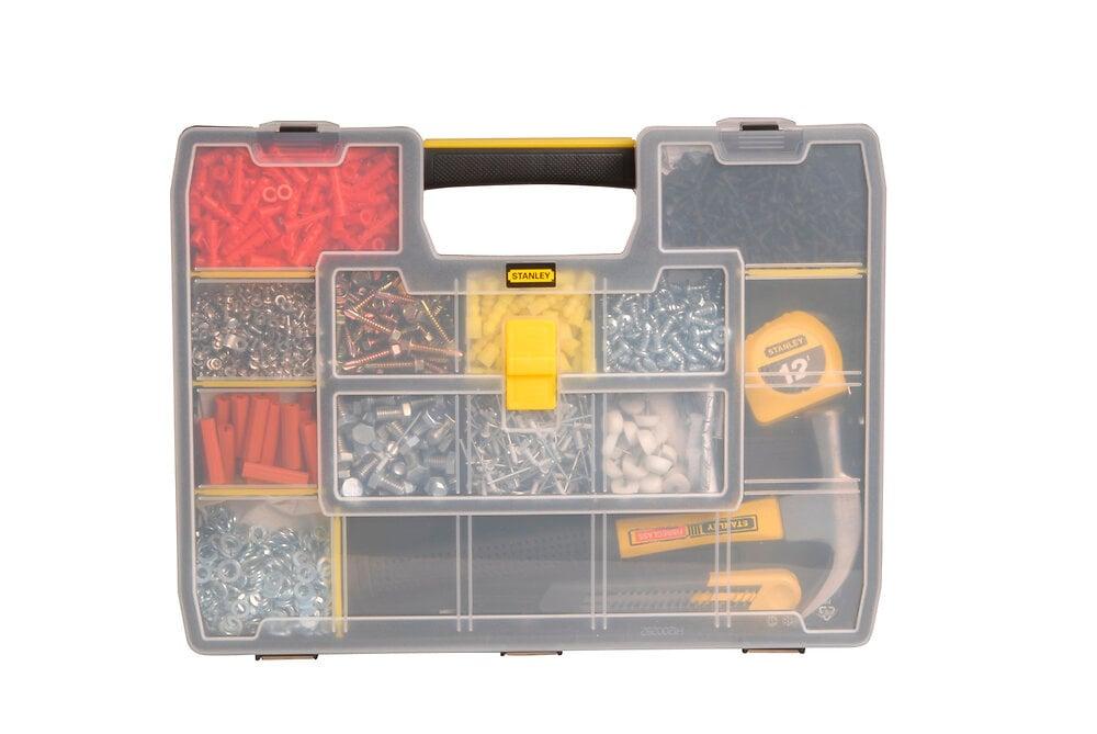 Organiseur STANLEY sortmaster 17 compartiments