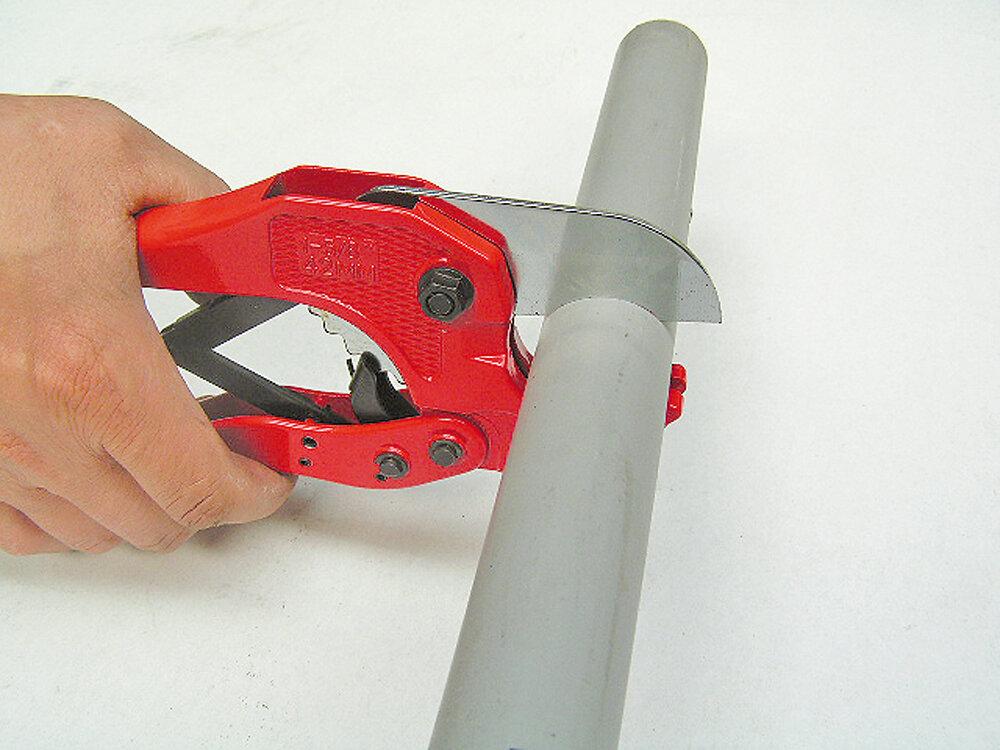 Pince coupe-tube pour tube pvc jusqu'à 42mm
