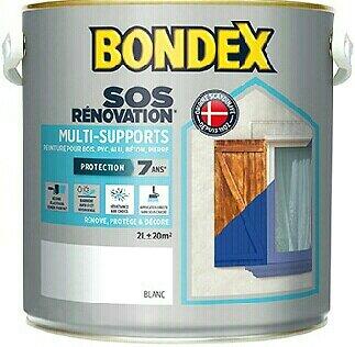 Peinture rénovation multi-supports Blanc Pot 2l