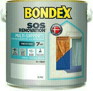 Peinture rénovation multi-supports Rouge basque Pot 2l