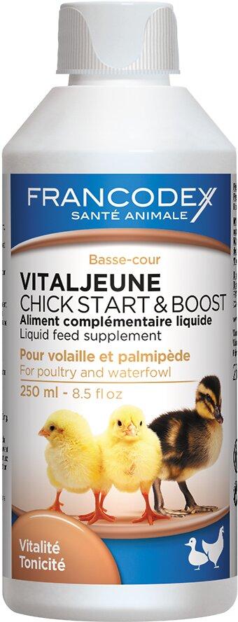 Complément alimentaire FRANCODEX poussins Vitaljeune 250ml
