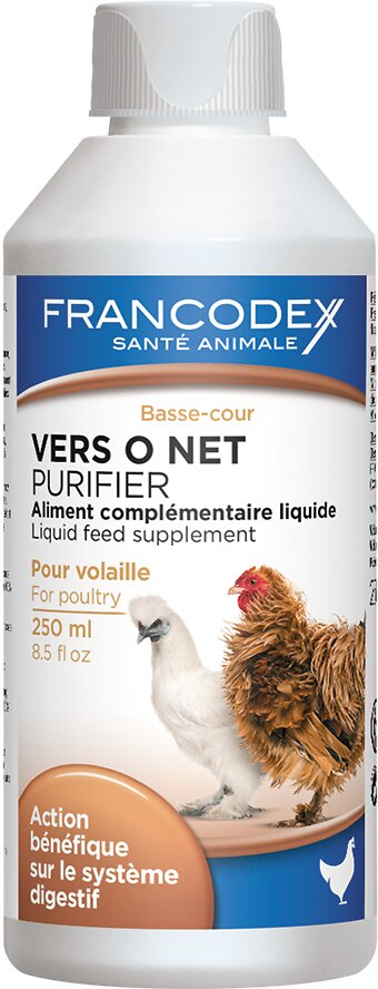 Complément alimentaire FRANCODEX volailles Vers O Net 250ml