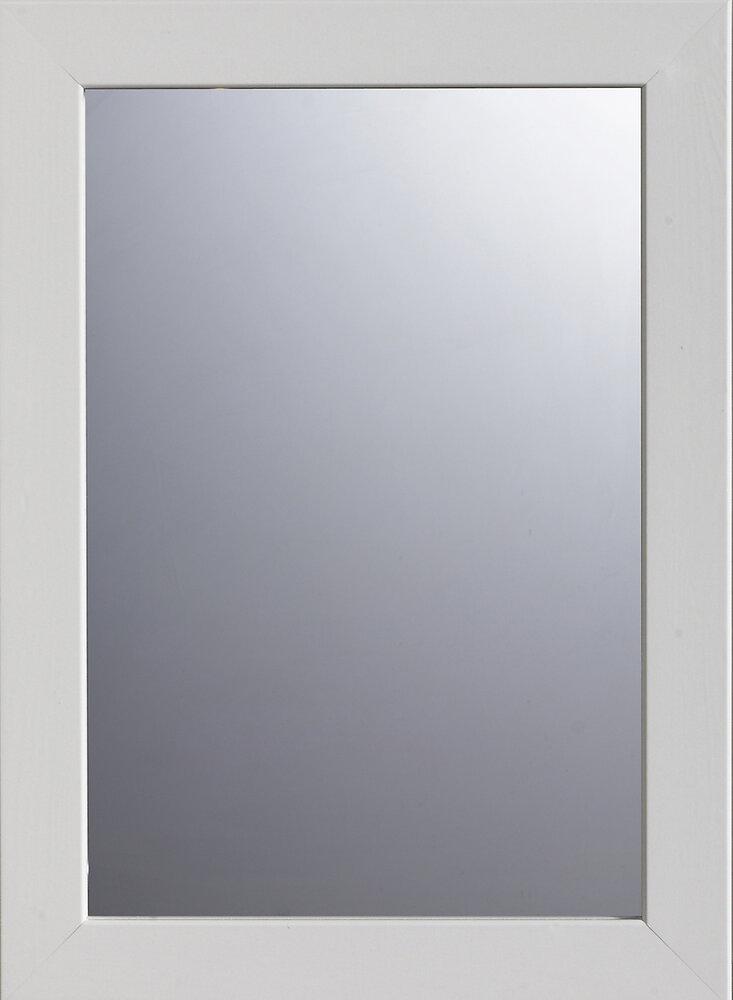 Miroir encadré Javea White 48 x 35 cm