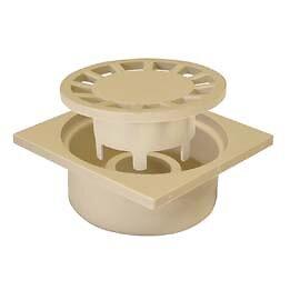 Siphon de cour mâle diamètre 50 15x15 sable