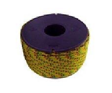 Drisse polyester jaune diamètre 4 mm longueur 12 m VISO