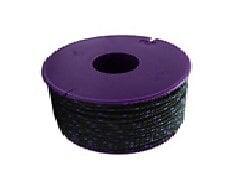 Drisse polyester noir diamètre 3 mm longueur 35 m VISO