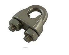 Serre-câble étrier acier inoxydable AISI 316