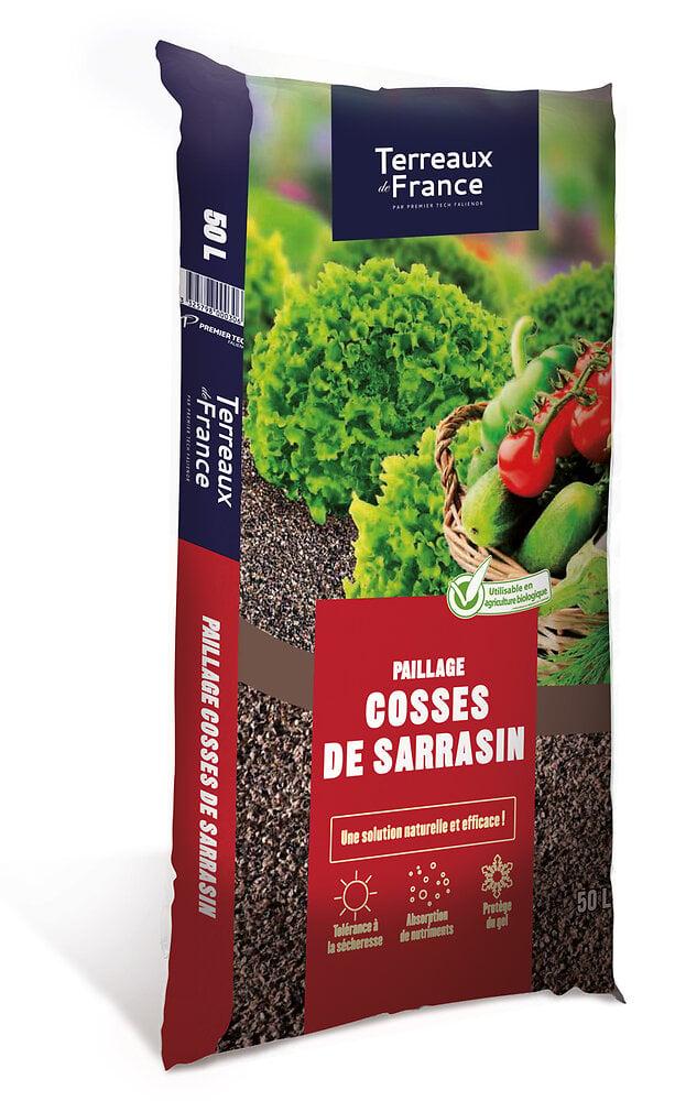 Cosses de sarrasin TERREAUX DE FRANCE 50 L