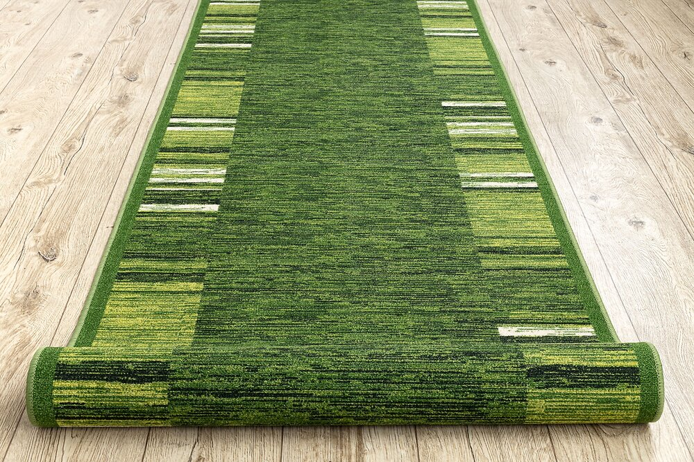 Tapis De Couloir  Antidérapant Adagio Vert 67 Cm 67x300 Cm