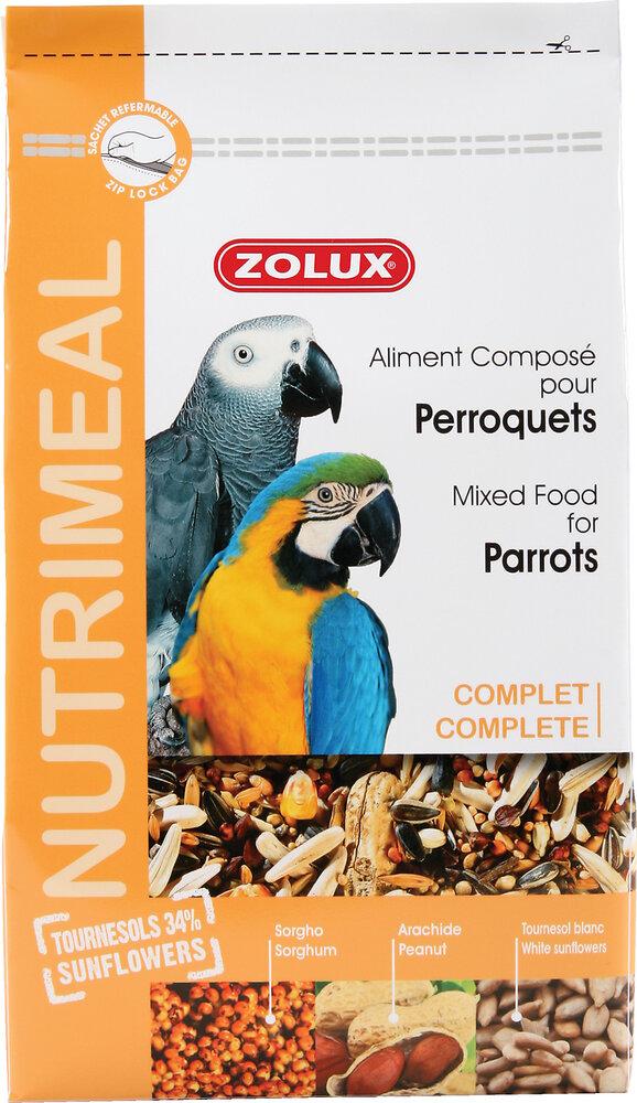 Aliments complets pour perroquets Nutrimeal 2.5kg