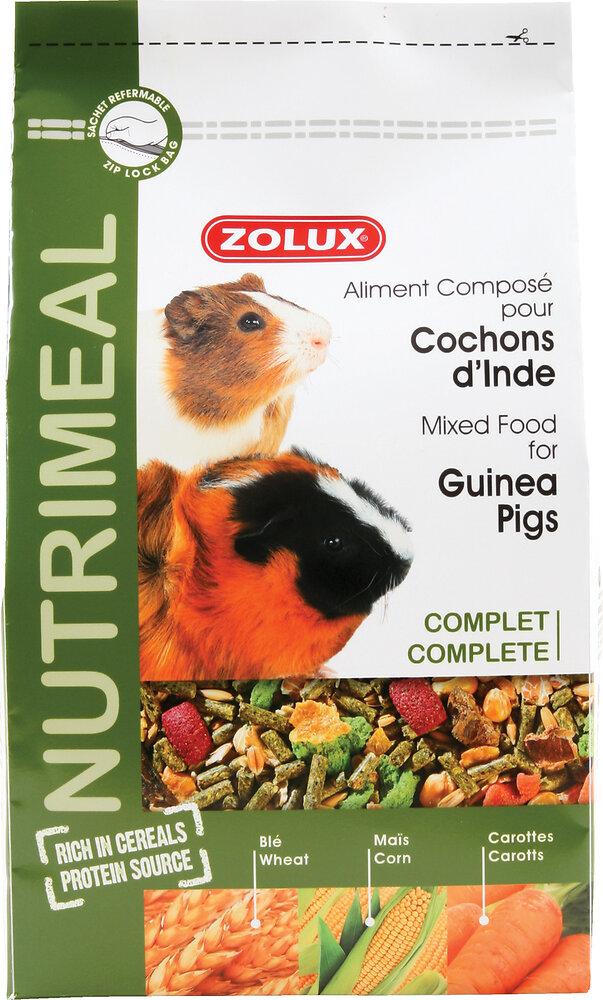 Aliments complets pour cochons d'Inde Nutrimeal 2.5kg