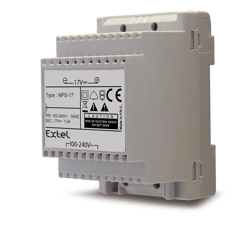 Alimentation modulaire 100-240 V~ / 17 VDC  1,5 A