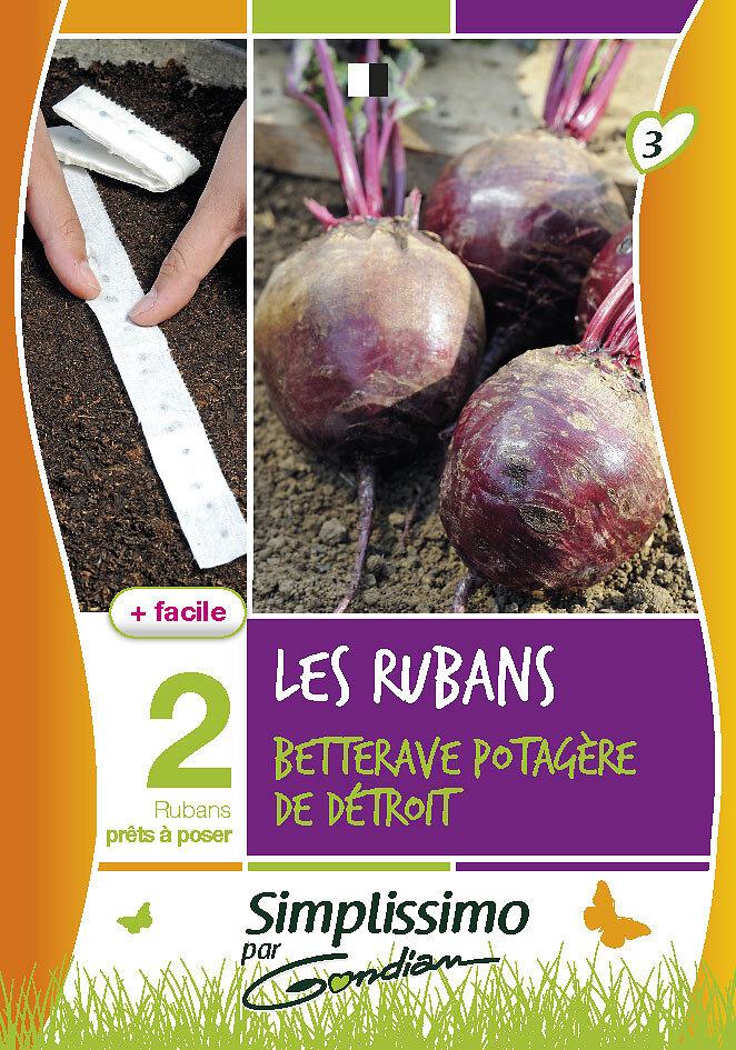 Betterave potagère détroit 'pour ruban'