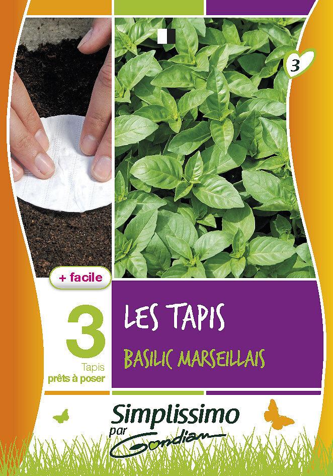 Basilic marseillais 'sur tapis'