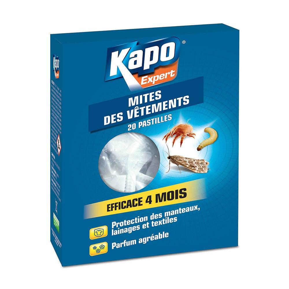 Pastilles KAPO antimites sachet de 20