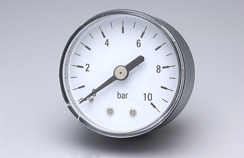 Manomètre 10 bars diamètre 50 pac 1-4