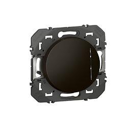 Interrupteur avec voyant lumineux dooxie 10AX noir - sachet