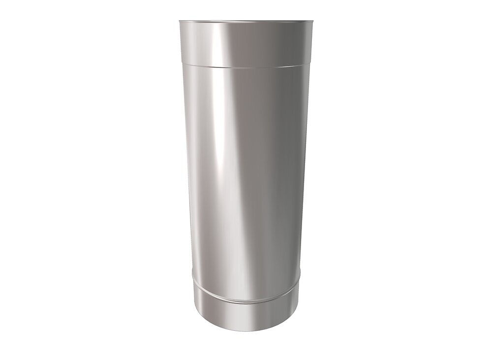 Tuyau inox soudé D 200 LG 0.5m TSP
