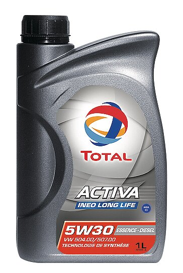 Huile Activa Ineo Long Life 5W30 1L TOTAL