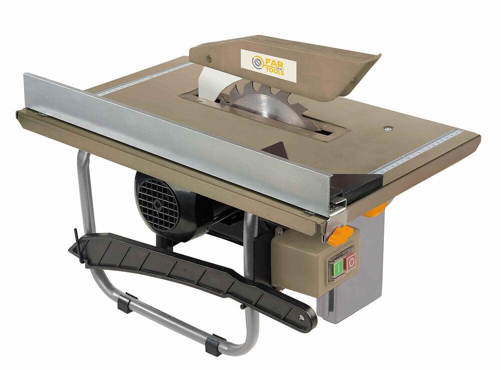 Scie de table 600W Diamètre 200mm table 500x337mm