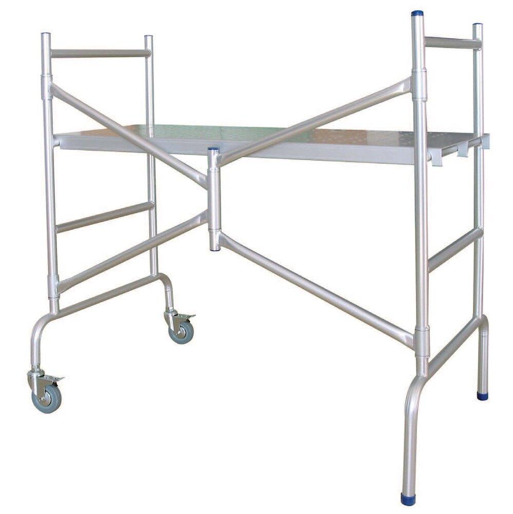 Echafaudage pliable aluminium