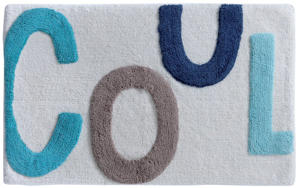Tapis de bain Words cool 50x80cm