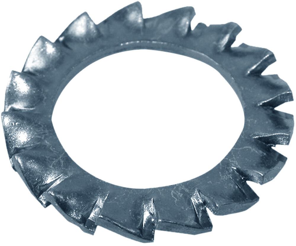 25 rondelles à entretoises acier zingué 14mm