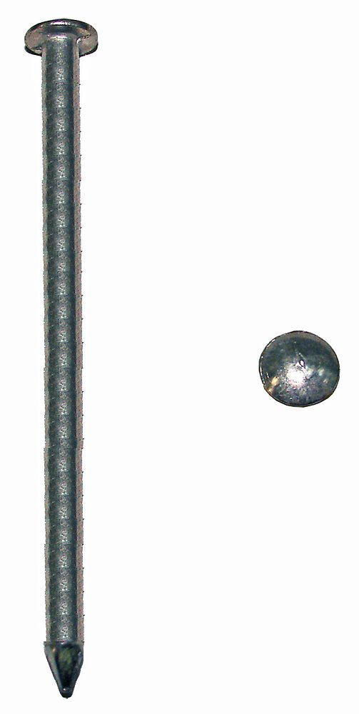 400g pointes tête plate acier zingué 3x70mm