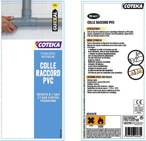 Colle raccord PVC 125 ml
