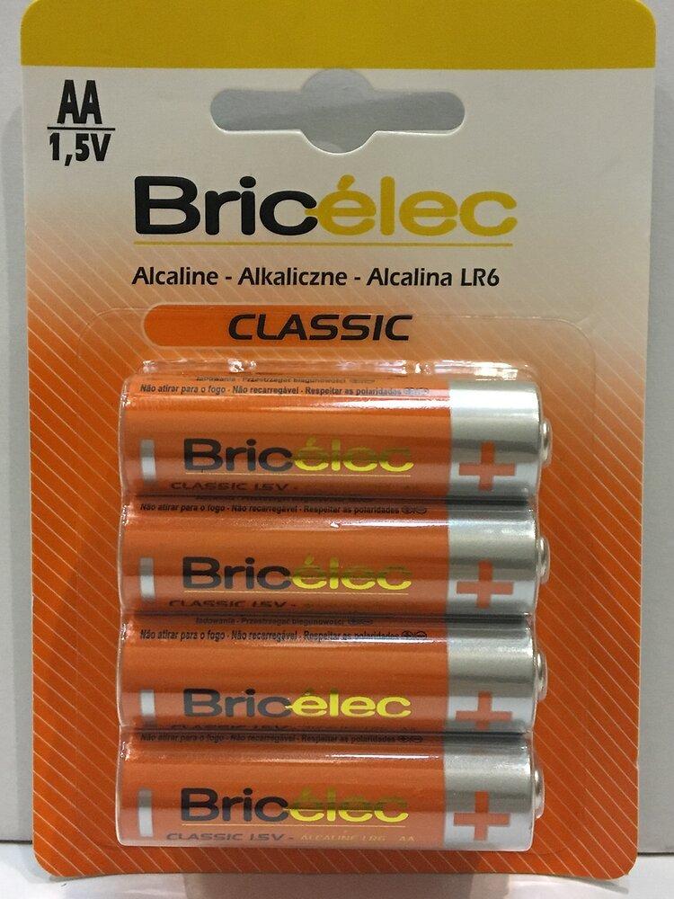 Piles alcalines lr06x8 BRICELEC