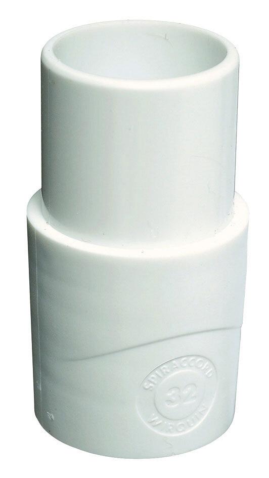 Embout plastique mâle diamètre 32mm ECOUL