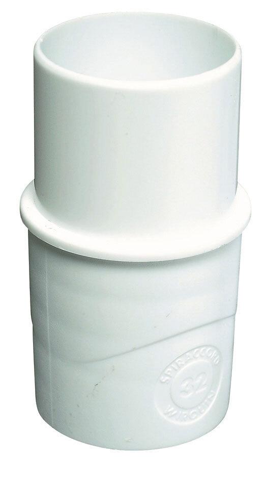 Embout plastique mâle femelle 32mm ECOUL