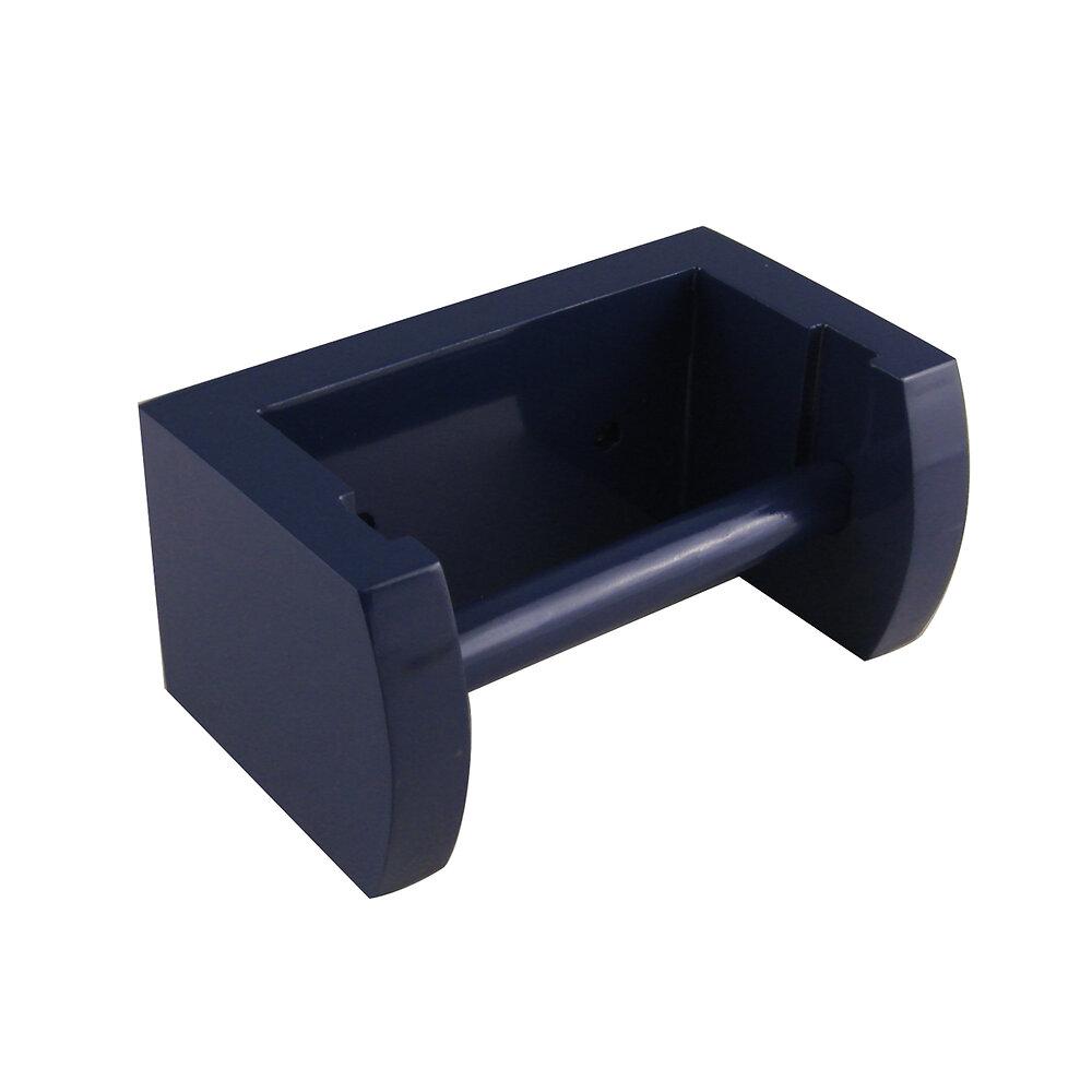 Derouleur WC bleu foncé