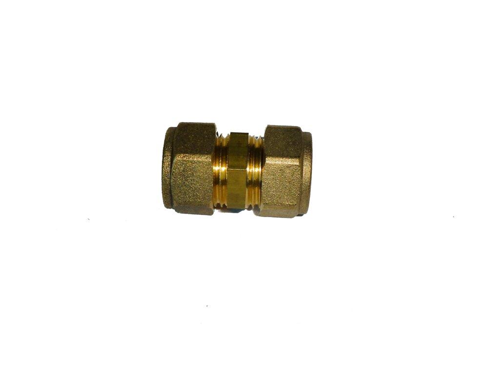 Sachet de 2 raccords droits pour tubes d14mm COTEKA