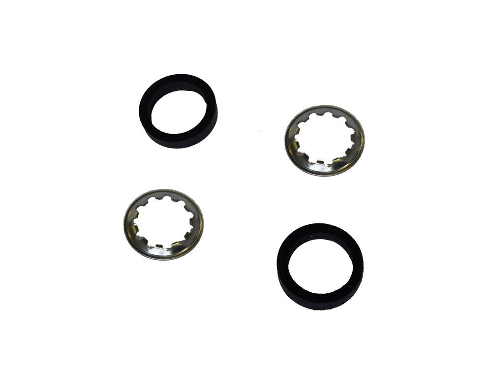 5 joints + rondelles pour tubes d16mm
