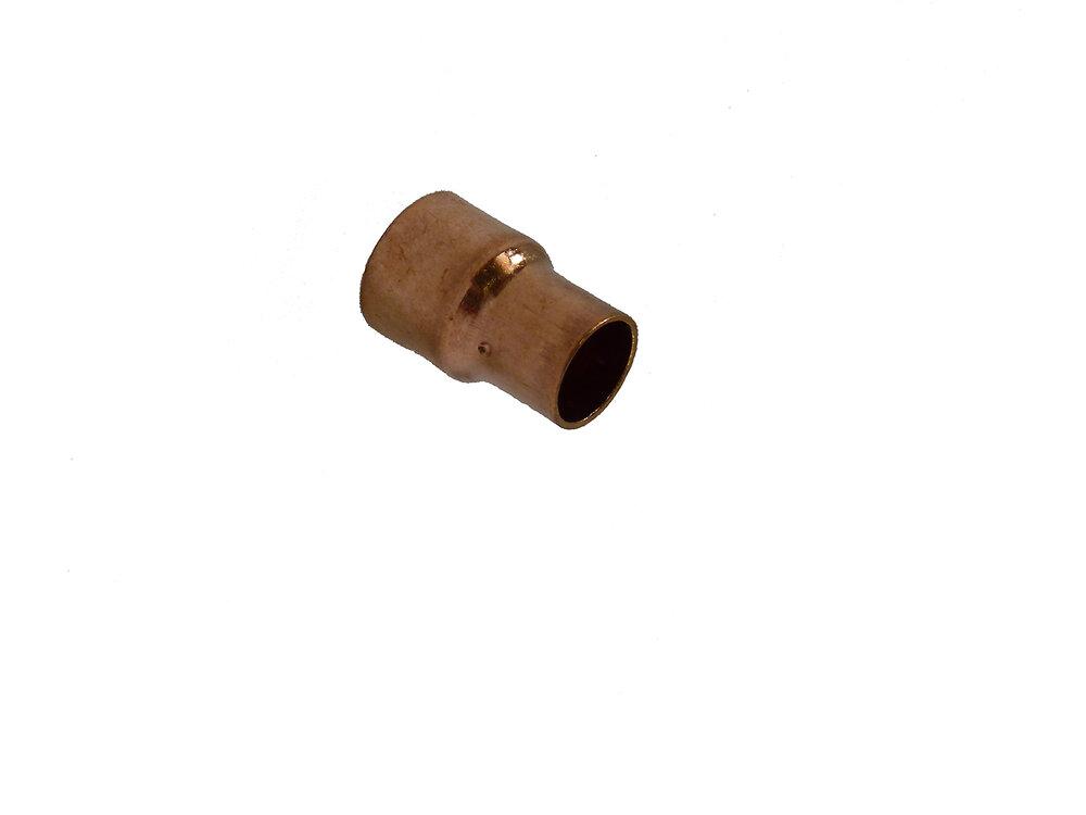 2 manchons réduits pour tubes d14mm-d12mm
