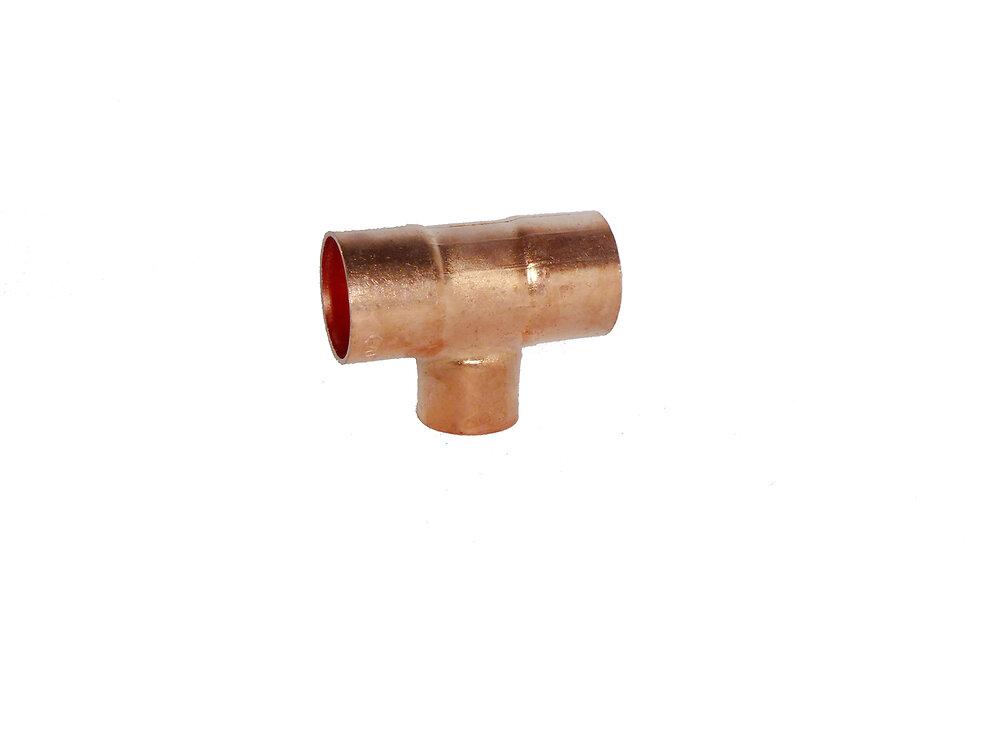 Té réduit pour tubes d22mm-d18mm
