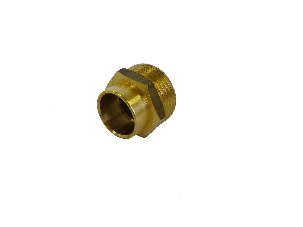 1 manchon pour tube d12mm mâle 12x17mm