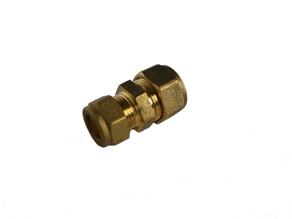 2 raccords droits réduits pour tubes d10mm-d12mm