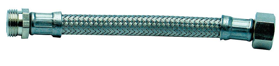 Flexible inox longueur 80cm mâle/femelle 12x17mm