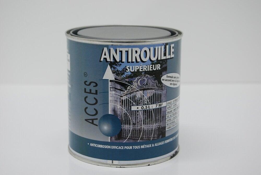 Peinture antirouille gris 0,5 L