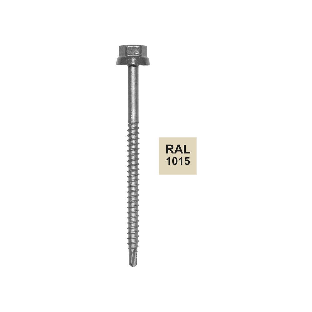Vis autoperceuse sable 1015 pour fixation bac acier 6.5x100