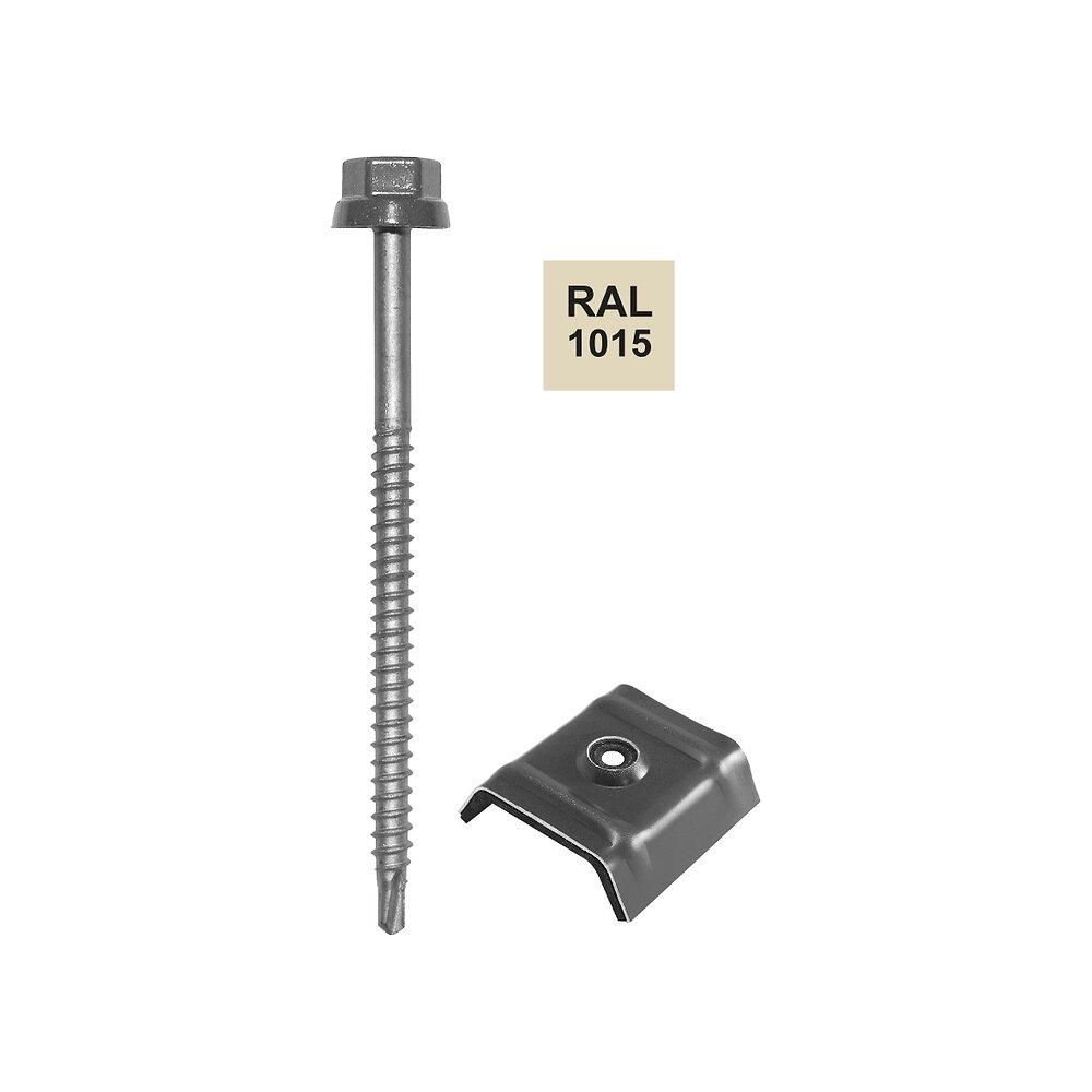 Vis + cavalier sable 1015 pour fixation bac acier