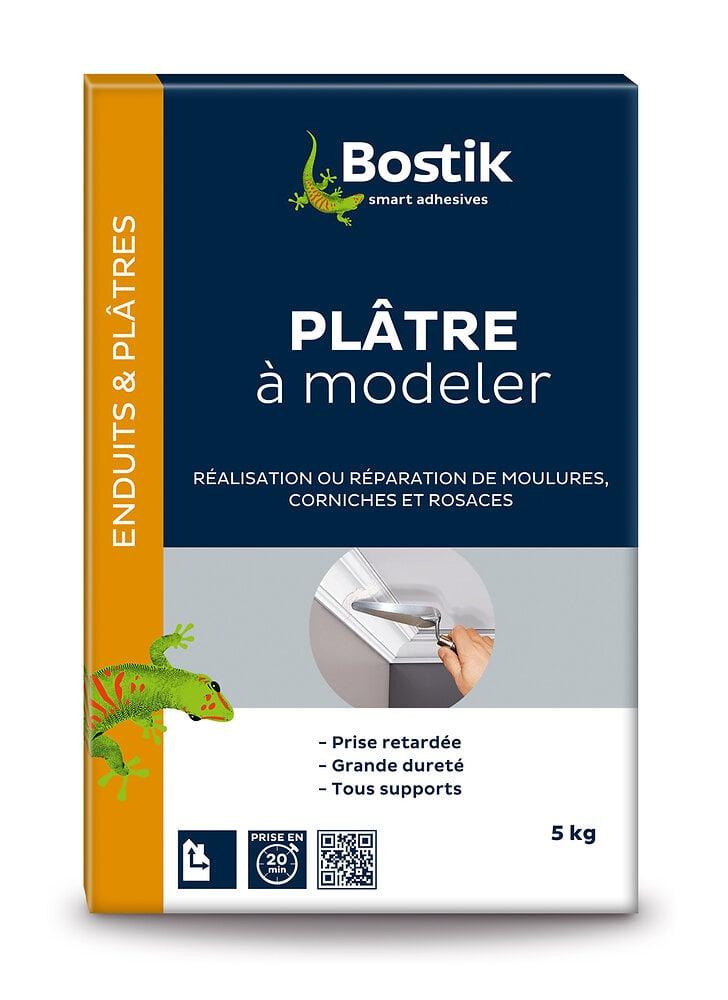 Plâtre à modeler 5 kg BOSTIK