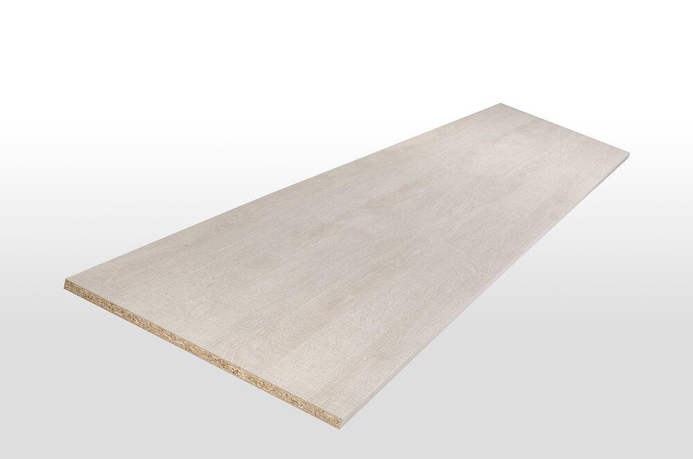Tablette mélaminée chêne antique 250x50x1.8