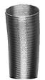 Tuyau aluminium flexible DISTRIWEST ventilation 104 mm