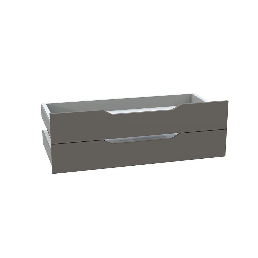 Kit 2 tiroirs 100 taupe