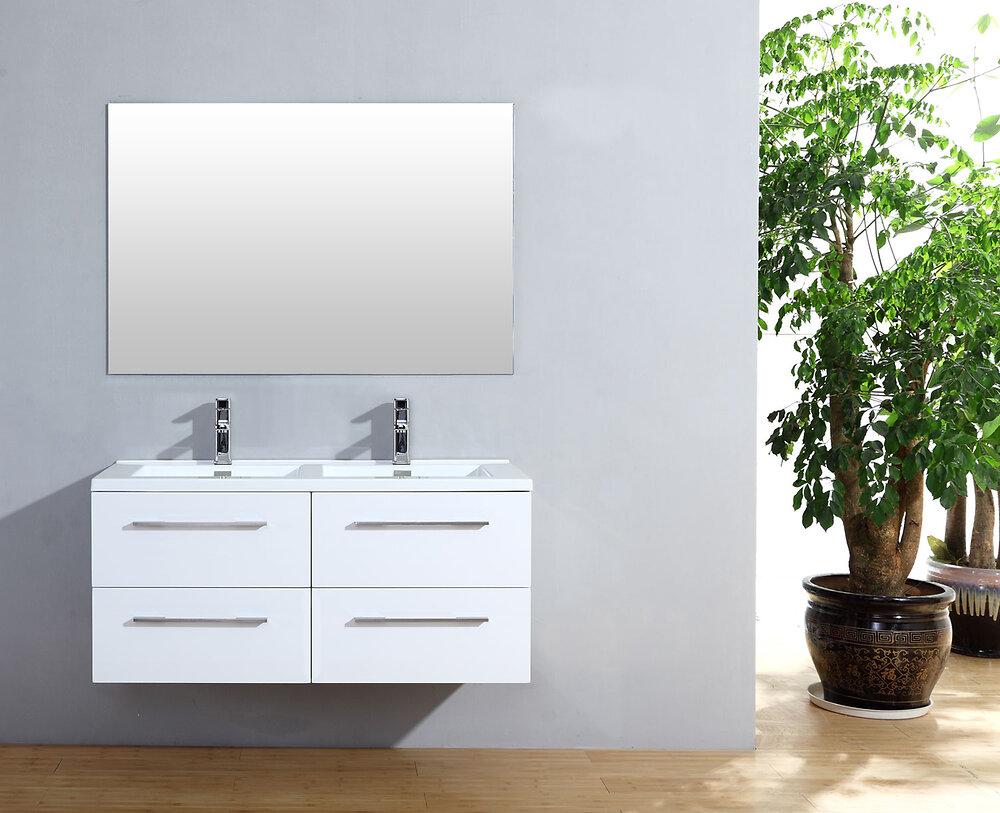 Meuble salle de bain Cascade 120 blanc